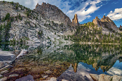 Photograph - Wilson Lake Reflections by Leland D Howard
