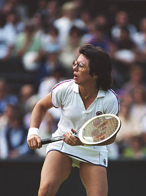 Photograph - Wimbledon Lawn Tennis Championship by Tony Duffy