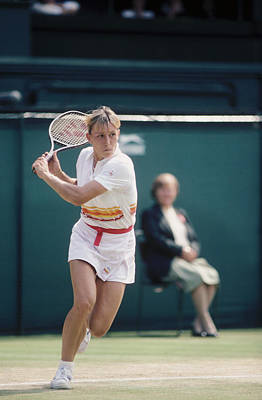 Photograph - Wimbledon Lawn Tennis Championships 1982 by Getty Images