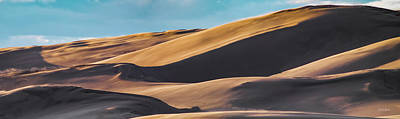Photograph - Wind And Sand by Leland D Howard