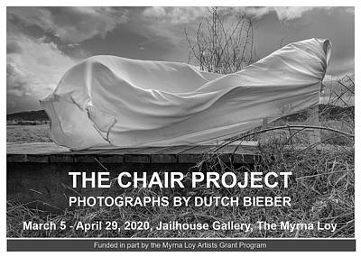 Photograph - Wind / The Chair Project by Dutch Bieber