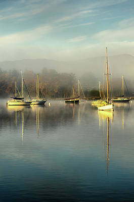 Ambleside Wall Art - Photograph - Windermere At Water Head by Rory Mcdonald