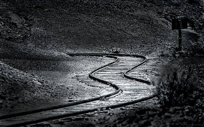 Photograph - Winding Road Ahead by Denise Dube