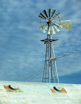 Photograph - Windmill Stain by Todd Klassy