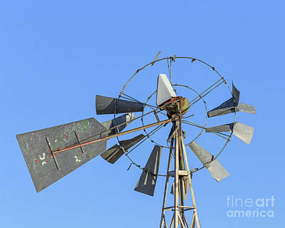 Photograph - Windmill Weathervane by Edward Fielding