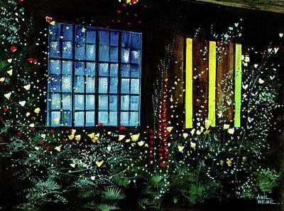 Painting - Window 2 by Anil Nene