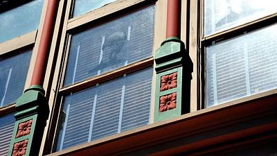Photograph - Window Detail by Jerry Sodorff