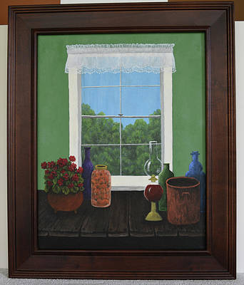 Painting - Window by Gloria Johnson