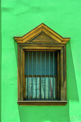 Royalty-Free and Rights-Managed Images - Window in Antofagasta Chile by David Smith