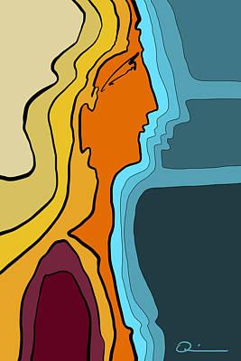 Digital Art - Window by Jeff Quiros