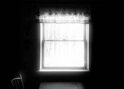 Photograph - Window Table by Bob Orsillo