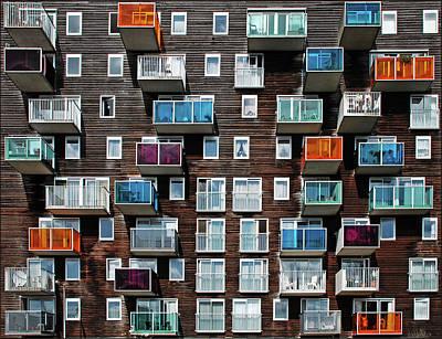 Balcony Photograph - Windows And Balconies by Maria Luisa Corapi