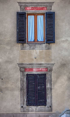 Photograph - Windows Of Montalcino by David Letts