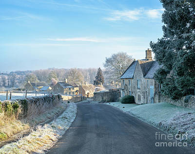 Photograph - Windrush In The Winter Frost by Tim Gainey