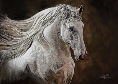 Pastel - Windswept by Terry Kirkland Cook