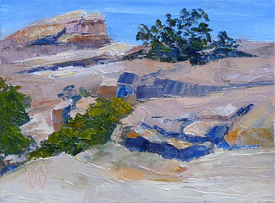 Painting - Windy Point Study by Susan Woodward