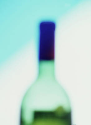 Photograph - Wine Bottle by Mimi  Haddon