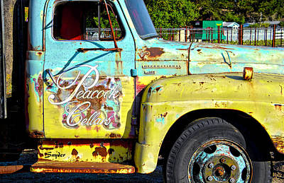 Photograph - Wine Truck Peacock Cellars by Floyd Snyder