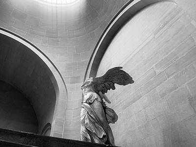 Photograph - Winged Victory Or The Nike Of Samothrace by Nathan Larson