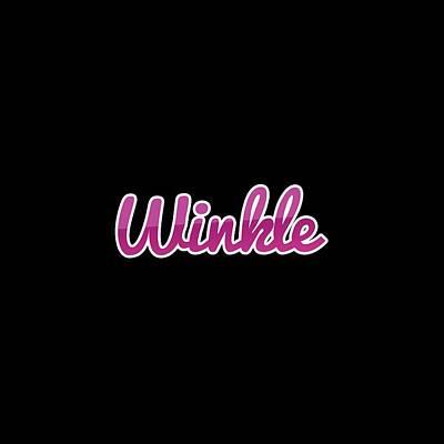 Digital Art - Winkle #winkle by Tinto Designs