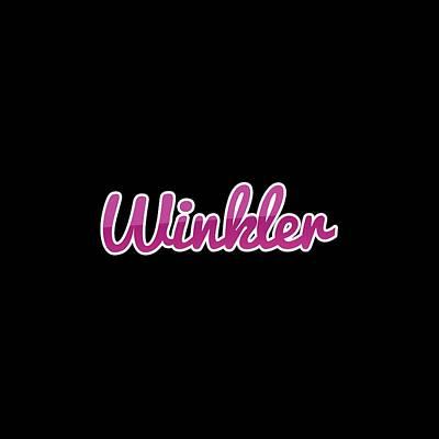 Digital Art - Winkler #winkler by Tinto Designs