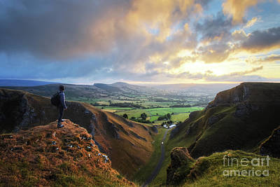 Photograph - Winnats Pass 8.0 by Yhun Suarez