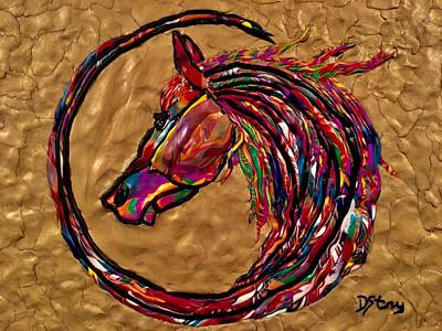 Mixed Media - Winners Circle by Deborah Stanley