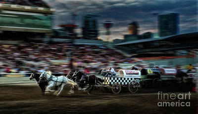Photograph - Winning Finish by Brad Allen Fine Art