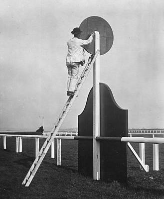Photograph - Winning Post by A. R. Coster