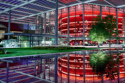 Photograph - Winspear Opera House Dallas 031619 by Rospotte Photography