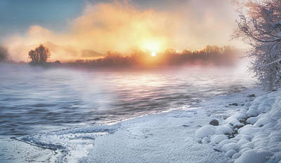Photograph - Winter Ambience by Leland D Howard