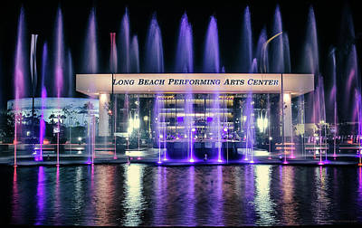 Photograph - Winter At Long Beach Performing Arts by Denise Dube