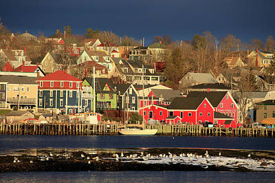 Photograph - Winter At Lunenburg by Gary Corbett