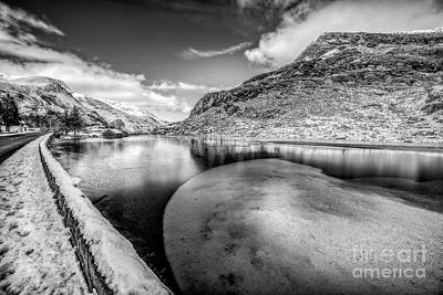 Photograph - Winter At Ogwen Lake by Adrian Evans