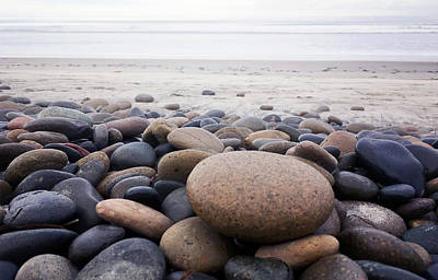 Kristian Gallagher Royalty-Free and Rights-Managed Images - Winter Beach by Kristian Gallagher