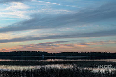 Photograph - Winter Blues - Sunset by Dale Powell
