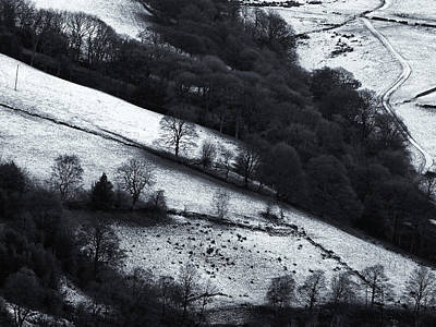 Caravaggio - Winter Boundaries by Philip Openshaw