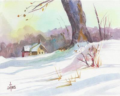 Painting - Winter Break by David Bader