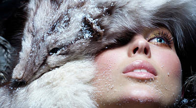 Photograph - Winter Fashion by Iconogenic