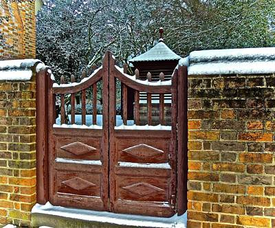 Photograph - Winter Gate by Don Moore