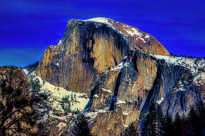 Photograph - Winter Half Dome by Garry Gay