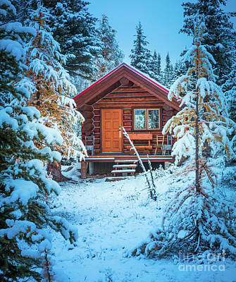 Photograph - Winter Hut by Inge Johnsson