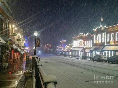 Photograph - Winter In Cripple Creek - Colorado by Tony Baca