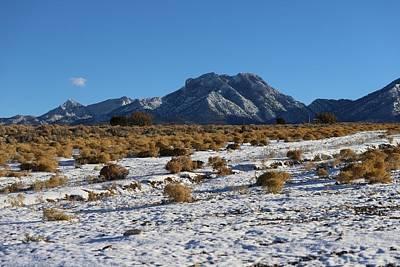 Photograph - Winter In The Desert  by Sagittarius Viking