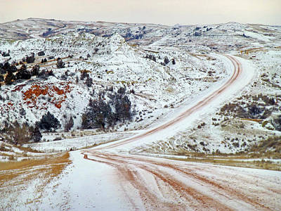 Photograph - Winter In The Realm Of West Dakota by Cris Fulton