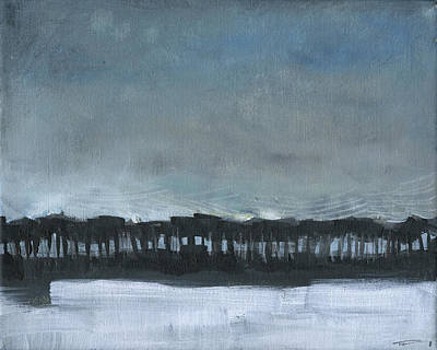 Painting - Winter Landscape 1 by Tim Nyberg