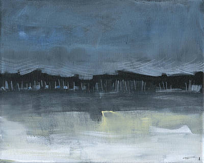 Painting - Winter Landscape 2 by Tim Nyberg