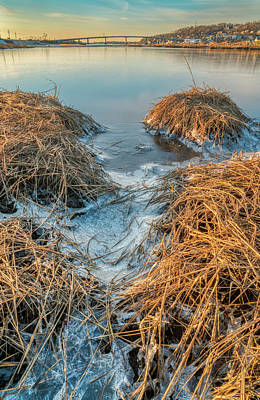 Photograph - Winter Morning At Plum Island by Gary Slawsky