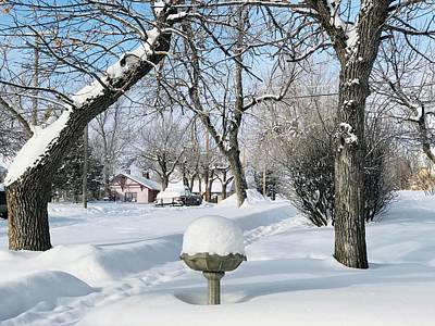 Photograph - Winter Morning In Roundup, Montana  by Tatiana Travelways