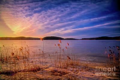 Impressionism Photos - Winter morning light 2 by Veikko Suikkanen